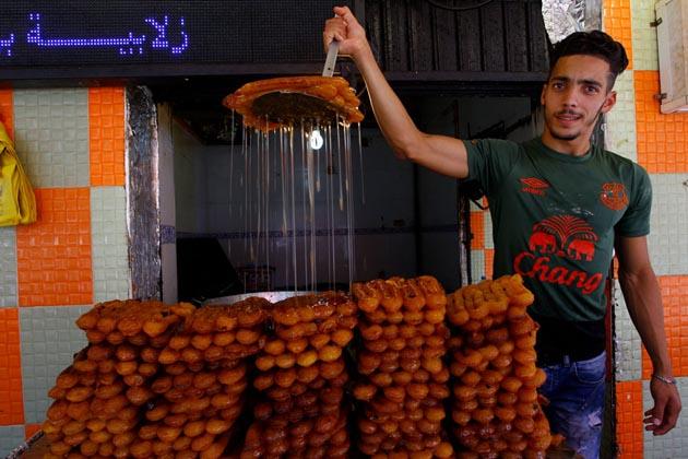 الجیریا میں رمضان کا ایک منظر