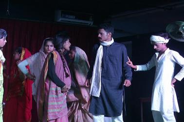 الہ آباد میں مسلم بچوں نے آرٹ فیسٹویل میں اپنی فنی صلاحیتوں کا کیا مظاہرہ