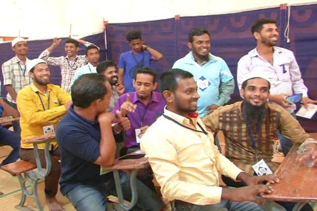 بنگلورو کے جامعہ محمدیہ منصورہ میں گونگے اور بہروں کے لئےتربیتی کیمپ منعقد کیا گیا ۔
