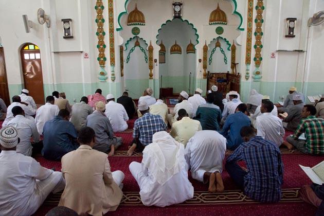 کینیا میں رمضان کا ایک منظر