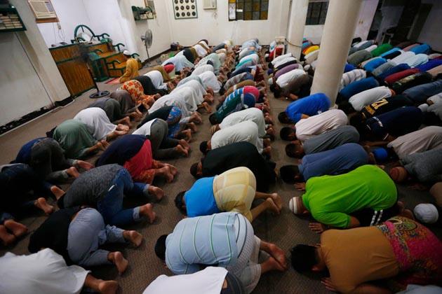 فلیپین میں رمضان کا ایک منظر