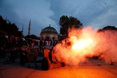 ترکی میں رمضان کا ایک منظر