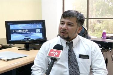 کرنسی نوٹ کے بغیرخرید و فروخت کو آسان ترین بنانے کے لئے حیدرآباد کی ایک سافٹ وئیر کمپنی کے مالک غوث محی الدین نے ایک ایسا ایپ تیار کیا ہے جو نیٹ بینکنگ اور ڈیجیٹل منی ٹرانسفر دونوں کا کام انجام دے گا ۔ اس ایپ کو بڑے تجارتی مراکز کے علاوہ چھوٹے کاروباریوں کی ضرورتوں کو پیش نظر رکھتے ہوئے تیار کیا گیا ہے ۔