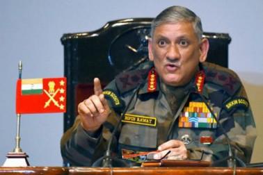 پاکستان سے نمٹنے کے لئے سرجیکل اسٹرائیک کے علاوہ بھی دیگر بااثر متبادل موجود : فوجی سربراہ
