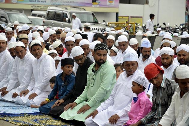 رانچی میں نماز عیدالفطر کا ایک منظر