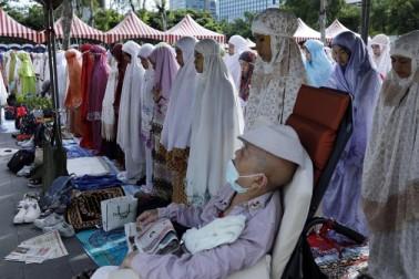 تائی پی میں خواتین نے بھی عید الفطر کی نماز ادا کی ۔
