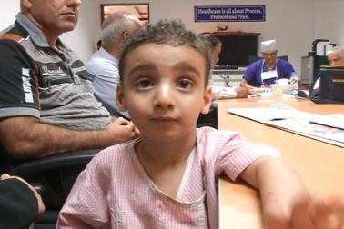 بنگلورو کے نارائن ہردیالیہ میں ان دنوں عراق سے آئے معصوم بچے زیرعلاج ہیں۔ کربلا سےتعلق رکھنے والے یہ بچے دل کے مریض ہیں ۔