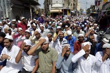 رانچی کی جامع مسجد میں جمعۃ الوداع کا ایک منظر