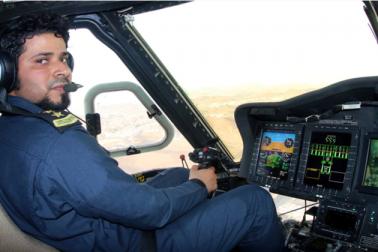 جدید ترین مواصلاتی آلات سے لیس ان ہیلی کاپٹروں کی مدد سے مسجد حرام اور حرم مکی میں پر ھجوم مقامات پر خاص طور پر نظر رکھی جاتی ہے۔