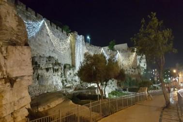 قبۃ الصخرہ بقعہ نور میں تبدیل