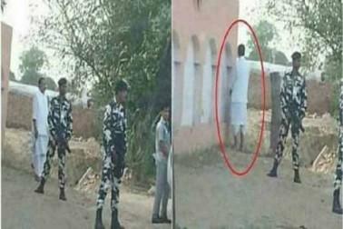 مرکزی وزیر نے کھلے میں پیشاب کر وزیر اعظم مودی کے سوچھ بھارت ابھیان کا اڑایا مذاق