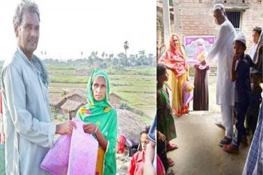 خدمت خلق ٹرسٹ انڈیا کے زیر اہتمام ضرورت مندوں میں عیدی کی تقسیم