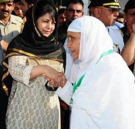 وزیر اعلیٰ محترمہ مفتی نے عازمین حج سے اللہ کے گھر میں ریاست جموں وکشمیر کے امن اورترقی کیے لئے دعا کرنے کی اپیل کی ہے۔