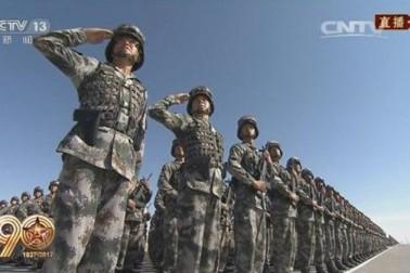 اس موقع پر فوجی دستوں سے خطاب کرتے ہوئے جن پنگ نے کہا کہ  آج چین کے لیے ایک جدید فوج کی ضرورت پہلے کے مقابلہ کہیں زیادہ ہے۔ انہوں نے فوج سے اپنی جنگی صلاحیت مزید بڑھانے اور قومی دفاع کے نظام کو جدید بنانے کیلئے کہا۔