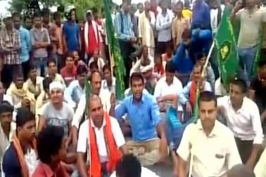 نتیش کے قدم سے ناراض ہوئے آر جے ڈی کارکنان، سڑکوں پر مظاہرہ