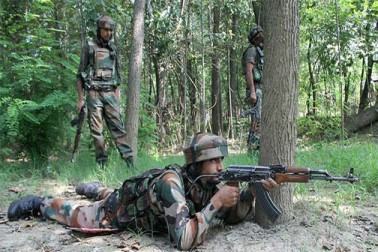 شمالی کشمیر کے حاجن میں مسلح تصادم، 5 جنگجو اور ایک انڈین ایئر فورس اہلکار ہلاک