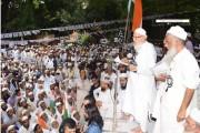 فرقہ پرستی ، ماب لنچنگ اور زہریلے بیانات کے خلاف 800 شہروں میں ایک ساتھ جمعیۃ علماء ہند کا امن مارچ