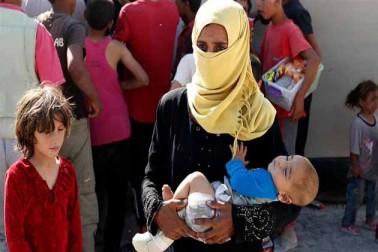 شام کے رقعہ میں آئی ایس اور فوج کے درمیان شہری سنگین بحران کا شکار