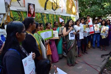 انہوں نے ایک زبان میں گوری کے قتل کی مذمت کی اور اس سلسلے میں مذمتی قرارداد پاس کی۔