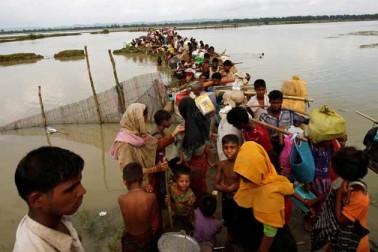 ہزاروں روہنگیائی مسلمان بنگلہ دیش - میانمار سرحد پر پھنسے ہوئے ہیں : اقوام متحدہ