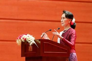 روہنگیا بحران پر آنگ سان سوکی کا خطاب، عالمی دباؤ میں نہيں آئے گا میانمار