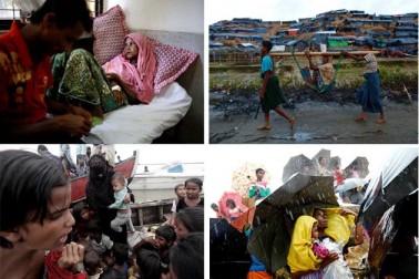میانمار کی ریاست راکھین میں قتل عام کے بعد نقل مکانی کرنے والے لاکھوں افراد بنگلہ دیش کے کوکس بازار میں پناہ گزیں ہیں ۔ تاہم ان کی حالات یہاں بھی کچھ اچھی نہیں ہے ۔ کوکس بازار اور تکناف سرحد کے قریب روہنگیائی شہریوں کو پناہ دیا گیا ہے ۔مگر یہاں کھانے کی اشیاء، دوائیوں اور دیگر ضروریاتی اشیائی کی شدید قلت ہے ۔