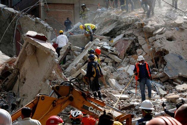 میکسیکو میں زلزلہ کے شدید جھٹکے، کئی عمارتیں منہدم، 138 افراد ہلاک