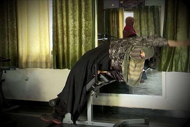 دارالحکومت کے قاضی کیمپ کے قریب واقع اس جم میں مسلم خواتین ایک مقررہ وقت پر ورک آوٹ کرتی ہیں۔