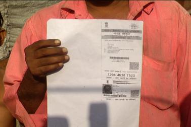 ان سلم میں رہنے والے لوگوں کے پاس ووٹر آئی ڈی کے علاوہ آدھار کارڈ اور راشن کا ر جیسے بنیادی قانونی دستا ویزات بھی موجود ہیں ۔