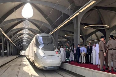 حرمین ٹرین کی سروسیز کا باقاعدہ آغاز، پہلا سرکاری قافلہ مکہ پہنچا