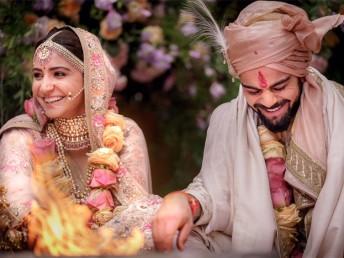 وراٹ کوہلی اور فلم اداکارہ انوشکا شرما شادی کے بندھن میں بندھ گئے ہیں۔