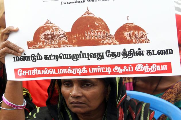 چنئی میں سوشل ڈیموکریٹک پارٹی آف انڈیا کی بینر تلے احتجاج کیا گیا ۔