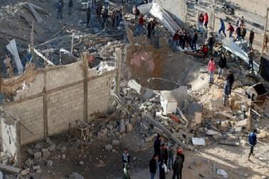 غزہ پٹی: اسرائیل کے فضائی حملہ میں دو فلسطینی شہید