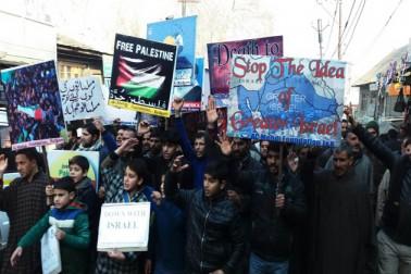 پاکستان کے متعدد شہروں میں نصرت القدس جلوس اور ریلیاں نکالی گئیں۔ امریکی صدر کے القدس کے حوالے سے اعلان کے خلاف پاکستان کےشہروں کراچی، لاہور، پشاور، اسلام، آباد،راولپنڈی میں احتجاجی مظاہرے کئےگئے۔