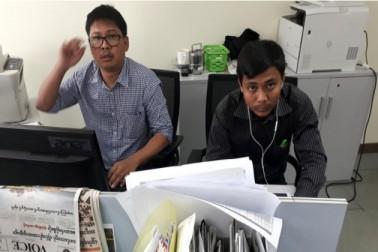 میانمار میں پریس کی آزادی کو خطرہ لاحق ، رائٹر کے صحافیوں کو جلد از جلد رہا کیا جائے : اقوام متحدہ