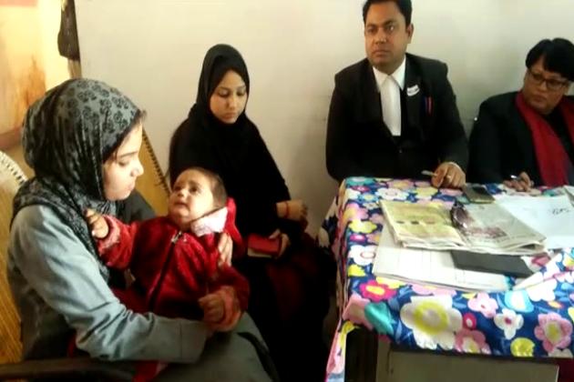 سائرہ کو طلاق کی وجہ سے اب ایک سال کے معصوم بچے کی زندگی دوراہے پر کھڑی ہے۔
