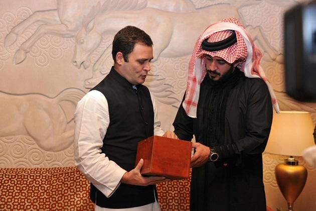 صدر کانگریس نےاور بحرینی پرنس نے بحرین مین اسپورٹس کے حوالے سے بات چیت کی۔