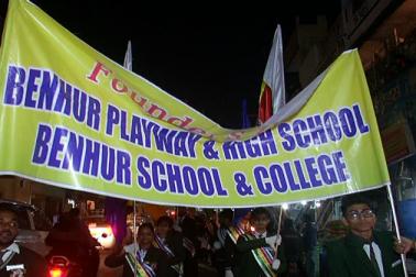 الہ آباد میں مسلم تنظیموں نے سڑکوں پرنکل کر سماج کو امن اور فرقہ وارانہ ہم آہنگی کا پیغام دینے کی کوشش کی۔