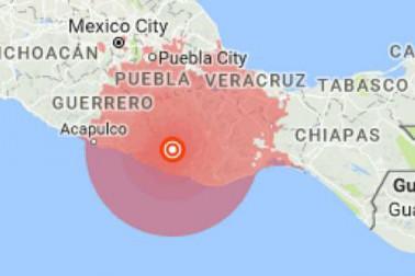میکسیکو میں محسوس کئے گئے زلزلہ کے تیز جھٹکے ، 7.2 تھی شدت ، تاہم جانی یا مالی نقصان کی خبر نہیں