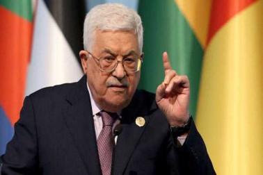 مسئلہ فلسطین کے حل کے لئے ایک کثیر القومی نظام بنایا جائے: محمود عباس