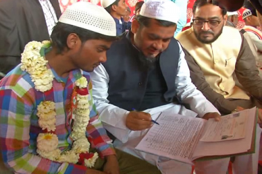 اسکیم کے تحت شادی کرنے والے جوڑوں نے خوشی کا اظہار کیا اور تمام انتظامات کے لئے حکومت اور انتظامیہ کا شکریہ ادا کیا۔