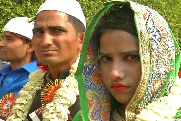 اجتماعی شادی تقریب میں شامل ہونے والے مسلم افراد ، دولہا اور دلہن کے اہل خانہ نے اس اسکیم کے تحت حاصل ہونے والی امداد اور مدد کی تعریف کی ۔