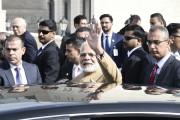 ہندوستان اور فلسطین کے درمیان تقریبا 50 ملین ڈالر کا سمجھوتہ ، تصاویر میں دیکھیں وزیر اعظم مودی کا دورہ رملہ
