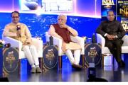نیوز 18 رائزنگ انڈیا: مالا پہننے پر شیوراج سنگھ نے دیا یہ انوکھا بیان