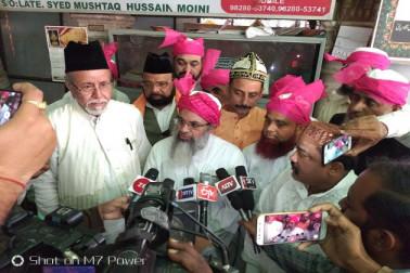 خواجہ کی نگری اجمیر شریف میں مولانا محمود مدنی کے ہاتھوں میڈیکل کیمپ کا افتتاح
