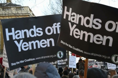 برطانوی وزیراعظم کی رہائش گاہ کے باہر بھی مظاہرہ کیا گیا۔(تصاویر بشکریہ : انڈیپنڈنٹ ڈاٹ سی او ڈاٹ یو کے )۔