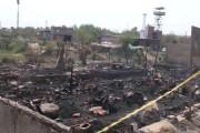 دہلی : اوکھلا حلقہ میں مقیم روہنگیا مسلمانوں کی 47 جھگیاں چند منٹوں میں جل کر خاکستر، تاہم جانی نقصان نہیں