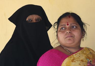 کرناٹک کی 224 اسمبلی سیٹوں میں سے 65 پر مسلم رائے دہندگان فیصلہ کن حیثیت رکھتے ہیں۔ ریاست میں تقریبا 13 فیصد مسلم آبادی ہے۔ (فوٹو : اے پی)۔
