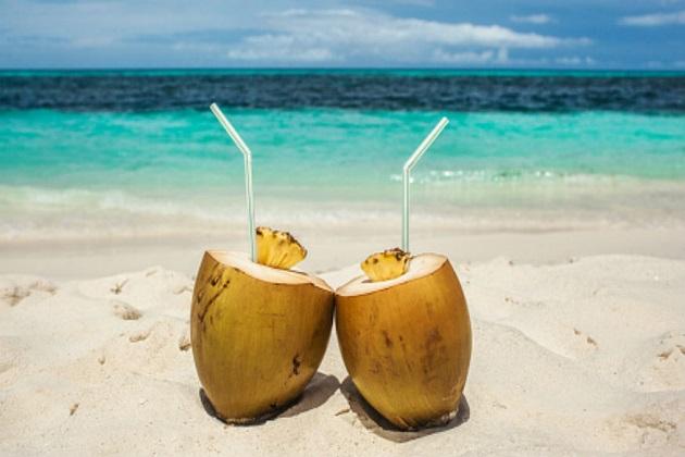 ناریل ۔ناریل کے ایک کپ سفید حصے میں 283 کیلوری ہوتی ہے۔250 گرام دودھ میں 105 کیلوری،دو چمچ چینی میں 32 کیلوری ہوتی ہے۔سب ملاکر ایک گکاس ناریل شیک میں 420 کیلوری ہوتی ہے۔