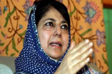 کشمیر میں گرفتاریوں پر محبوبہ مفتی کا سخت ردعمل، کہا آپ ایک شخص کو قید کرسکتے ہیں لیکن اس کے نظریے کو نہیں